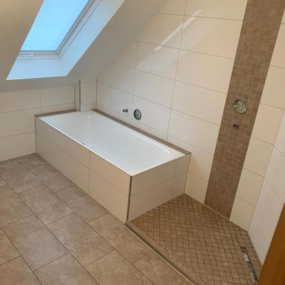 Badezimmer standard mittlere größe